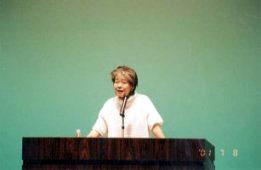 文化講演会 落合恵子「こころの居場所」
