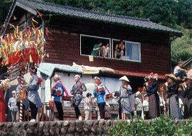 「山里、祭の日」 熊谷和子さん (福井市)