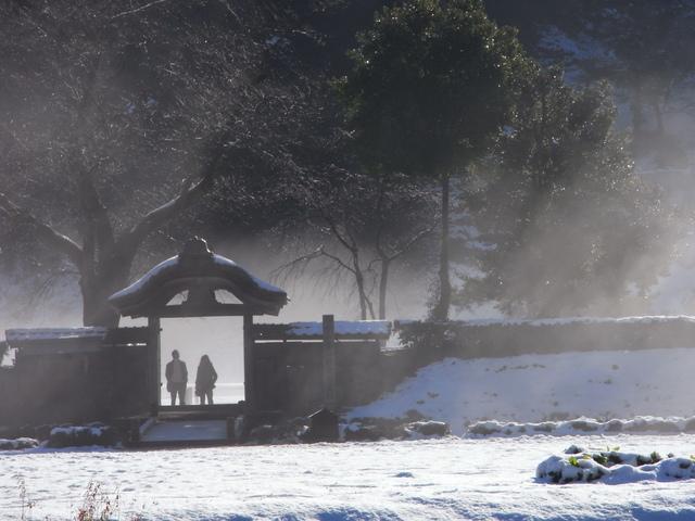 「蒸気霧立つ」 三上 彰さん(福井市)